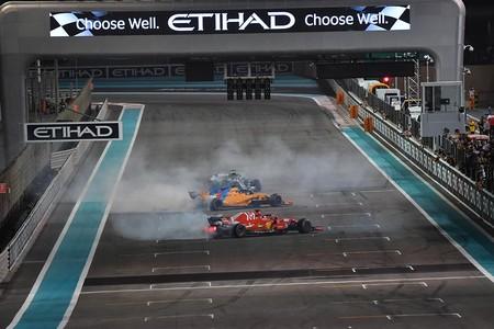 Alonso Vettel Hamilton Abu Dabi F1 2018