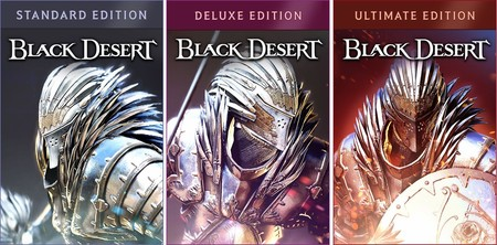 Black Desert Online Ediciones