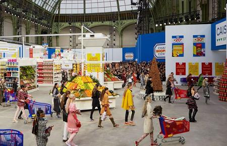 Desfile supermercado Chanel