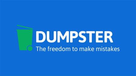 Dumpster para Android, una completa papelera de reciclaje para recuperar archivos y aplicaciones