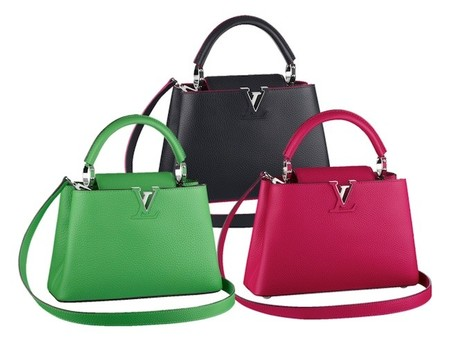Louis Vuitton introduce un nuevo bolso a la familia: Capucines BB