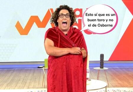 """¡Vaya cornamenta! Torito se marca un desnudo en 'Viva la vida' que deja patidifuso a todo Telecinco: """"No he visto una cosa así en mi vida"""""""