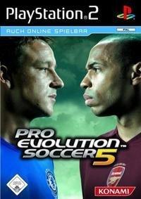 Caratula del Pro Evolution 5