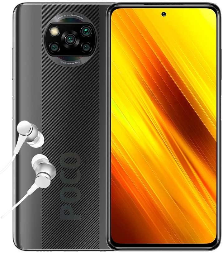 "Poco X3 NFC - Smartphone 6+64GB, 6,67"" FHD+ cámara Frontal con Punch-Hole, Snapdragon 732G, 64MP AI Penta-Camera, 5160mAh, Versión Global"