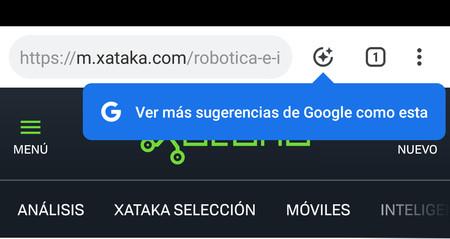 Cómo activar las nuevas sugerencias de Chrome para Android