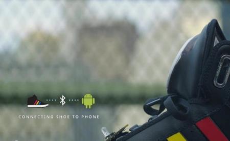 Los tenis que nos hablan, un proyecto más de Google