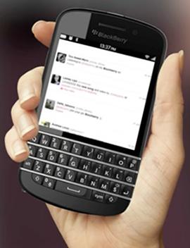 Foto de BlackBerry X10 (1/4)