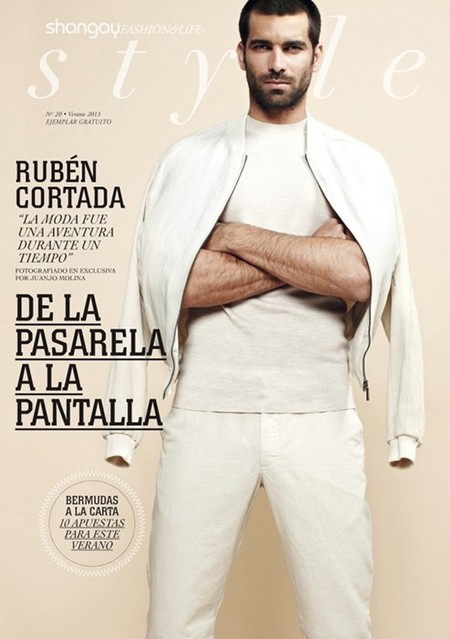 Rubén Cortada, la nueva portada de Shangay Style, y mi nuevo objeto de deseo
