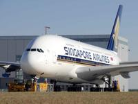 Ahí va el primer Airbus A380, destino Singapore Airlines