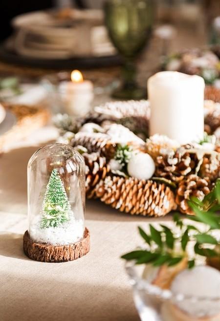 Decoración de Navidad nórdica