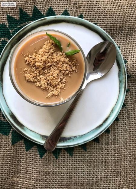Panna cotta de dulce de leche en vasito: receta fácil y rápida con vídeo incluido