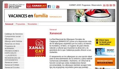 La red Xanascat de albergues catalanes hará un descuento del 15 % a las personas con discapacidad
