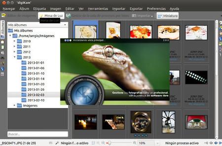 Flujo de trabajo en Linux:  importar, clasificar y organizar las fotos