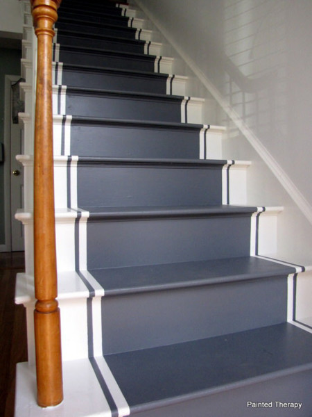 21 ideas para darle color y estilo a las escaleras de tu casa - Escaleras para duplex ...