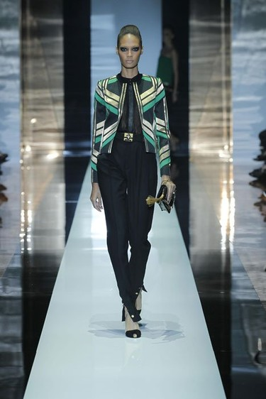 Gucci Primavera-Verano 2012 en la Semana de la Moda de Milán: el efecto 3D