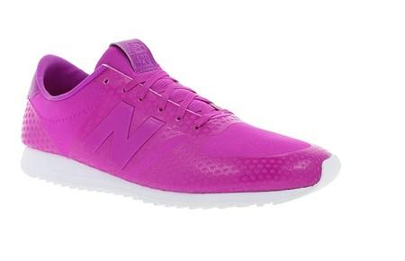 Por sólo 39,95 euros podemos hacernos con las zapatillas New Balance WL420 DFI en fucsia gracias a Amazon