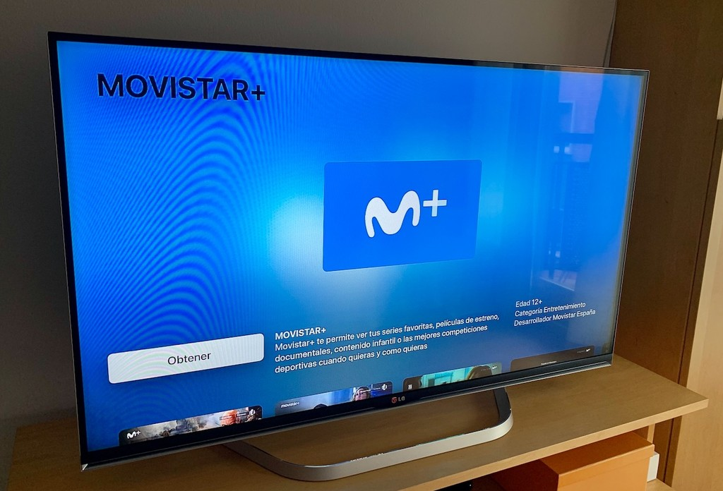 Movistar+, por fin disponible en los Apple TV