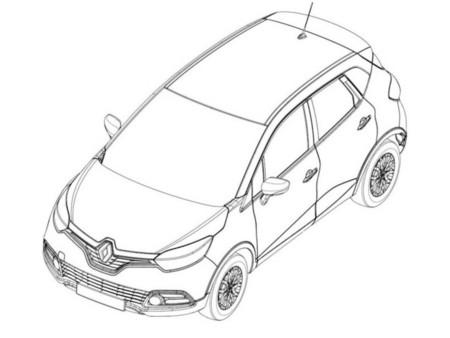 Los bocetos del Renault Captur, ya a la vista