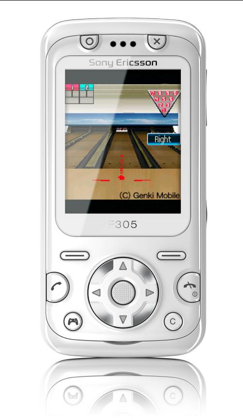 Foto de Sony Ericsson F305 (1/8)