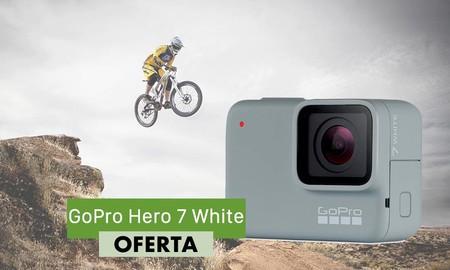 Para grabar tus aventuras de verano, la cámara GoPro Hero 7 White sólo te cuesta 129 euros con el cupón MENOS10 de AliExpress Plaza