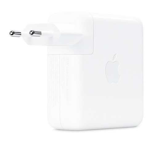 Aparecen supuestas imágenes de un adaptador Apple™ de 96W para el MacBook Pro de dieciséis pulgadas