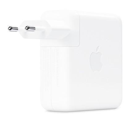 Aparecen supuestas imágenes de un adaptador Apple de 96W para el MacBook Pro de 16 pulgadas