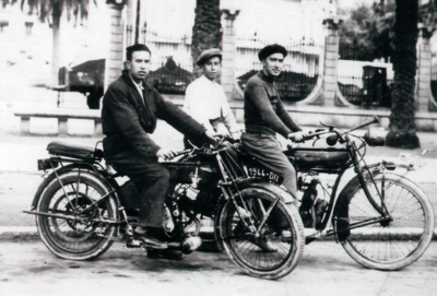 Terrot 175 LSC de 1928, otra de las motos de mi abuelo