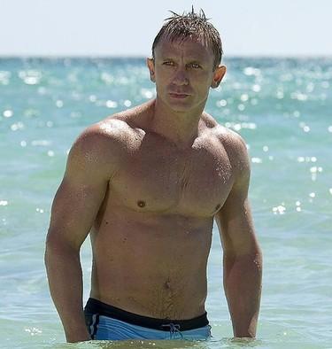 Daniel Craig tiene el mejor torso de Hollywood