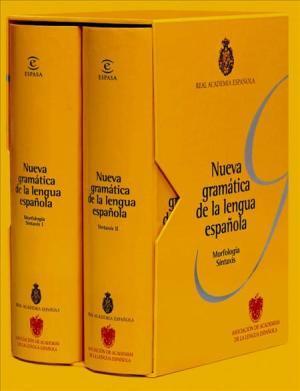 Se ha presentado oficialmente la 'Nueva gramática de la lengua española'