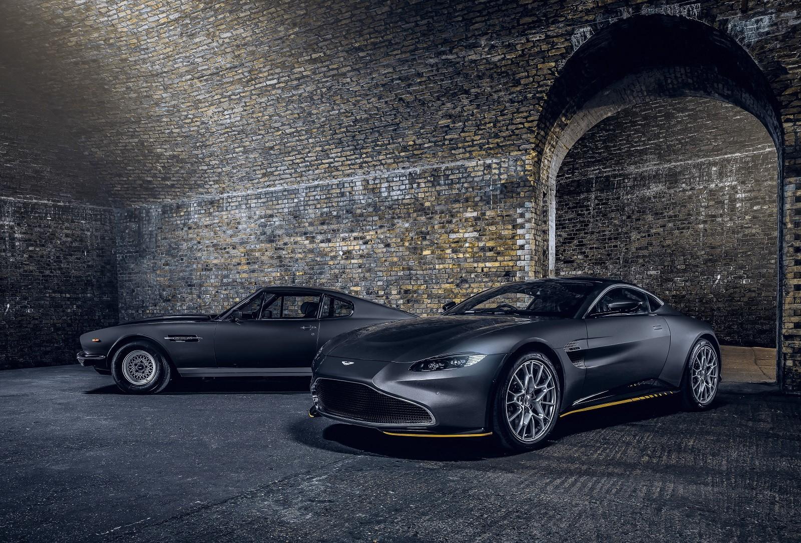 Foto de Aston Martin Vantage y DBS Superleggera 007 Edition (18/39)