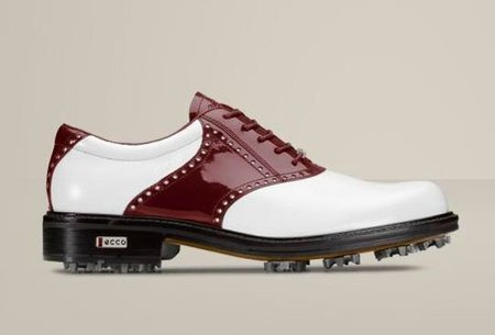 Thomas Bjorn sigue calzando el modelo World Class GTX de ECCO