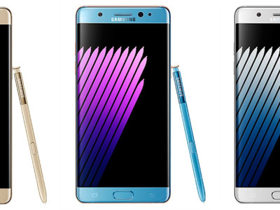 El Samsung Galaxy Note 7 muestra su diseño desde todos los ángulos en nuevas imágenes