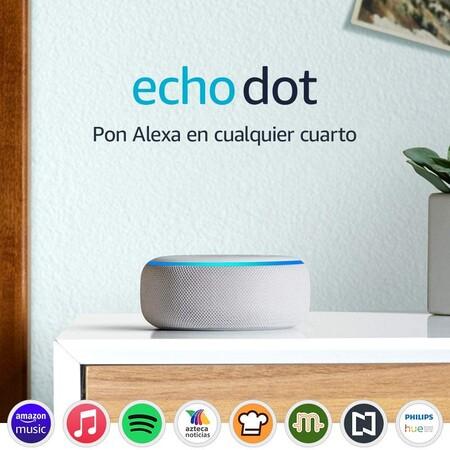 Echo Dot tercera generación con Amazon Alexa en descuento