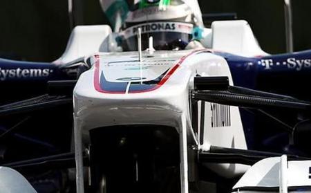 Nick Heidfeld el más rápido en una tercera sesión muy extraña