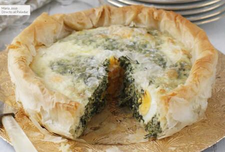 Torta pascualina, receta italiana típica de Semana Santa
