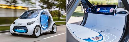 Evolución diseño coches Smart Visioneq