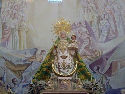 Cuando la Virgen de la Fuensanta te paga la hipoteca