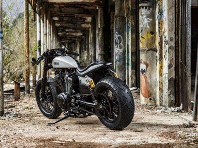 Para un minuto y degusta la Yamaha XV950 Speed Iron de Moto di Fierro, te lo mereces