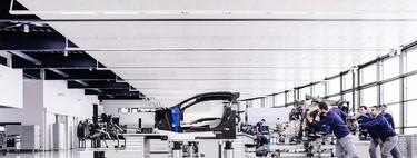 20 personas y 6 meses: así se fabrica un Bugatti Chiron en 24 imágenes