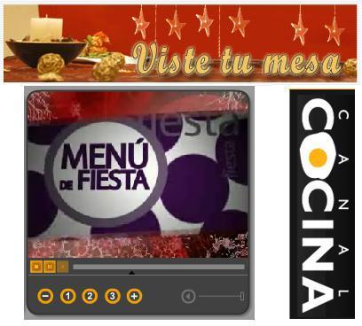 Menú de Fiesta en Canal Cocina