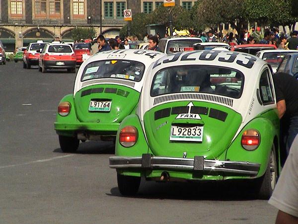 Taxis Volkswagen Escarabajo