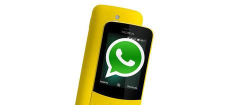 WhatsApp estará pronto disponible para el Nokia 8110, comienza el desarrollo de la aplicación en KaiOS