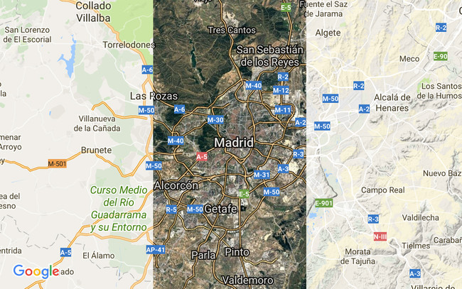 Capas Google™ Maps