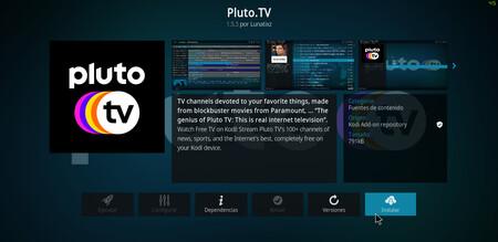 Instalar Pluto Tv Kodi