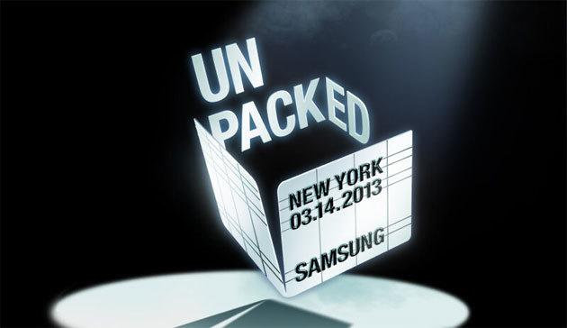 Samsung Unpacked 4 2013