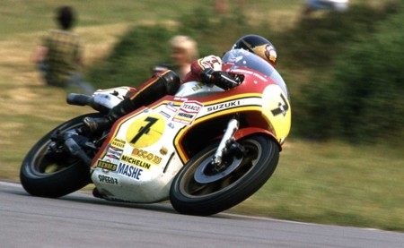 Barry Sheene Suzuki 1976