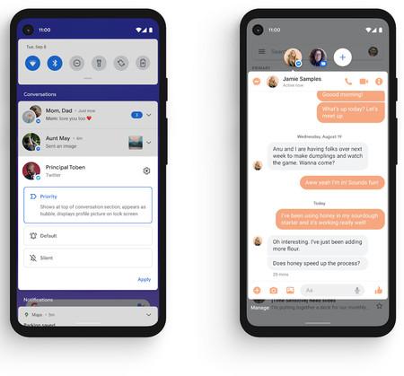 Android once Conversaciones