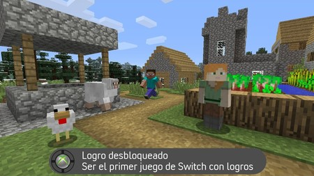Minecraft Switch Logros