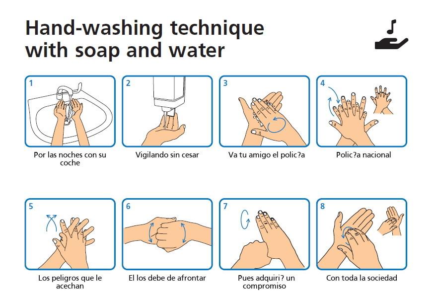 Este generador de instrucciones para lavarnos las manos nos facilita mejorar nuestra higiene al ritmo de nuestra canción favorita