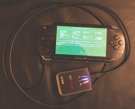 Ponle un GPS a la PSP